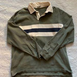 LL Bean Vintage Rugby Shirt